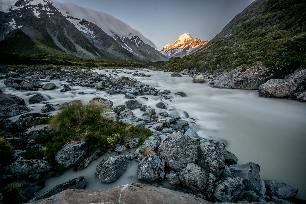 Sunset over Mt Cook